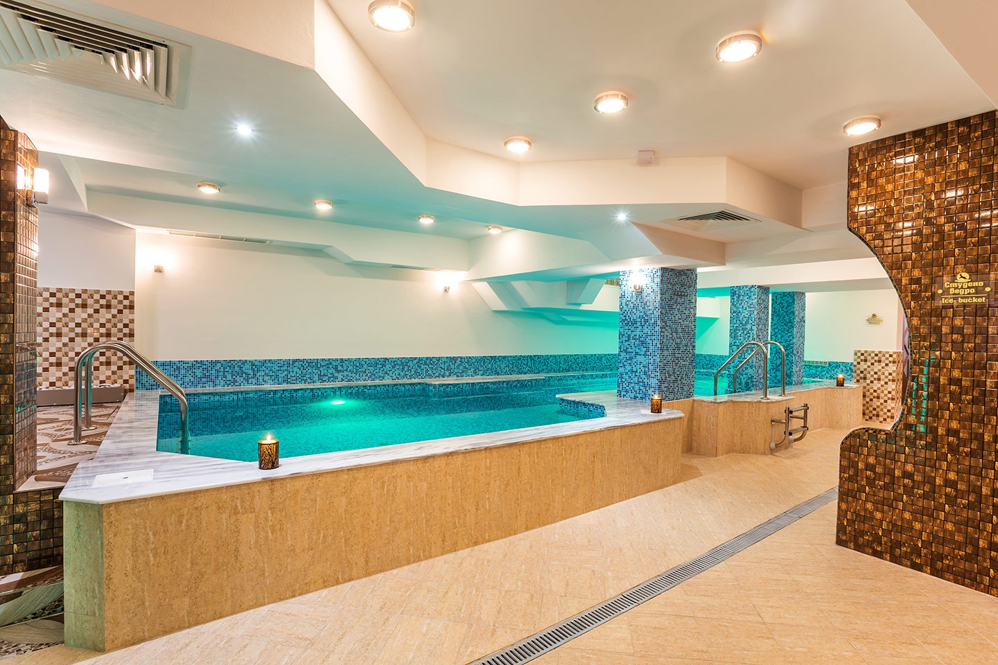 Mineral swimming pool